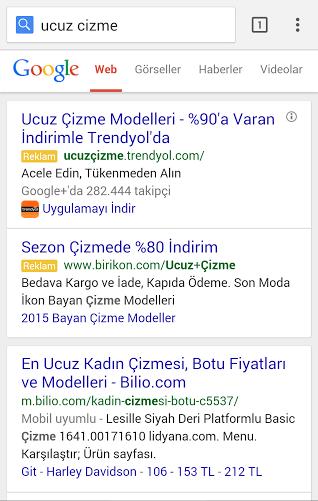 E-Ticaret Siteleri İçin Adwords Reklamları