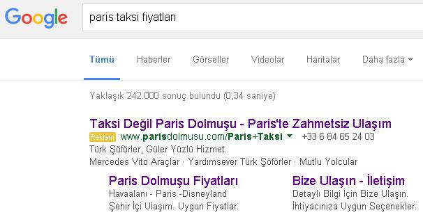 Paris Dolmuşu